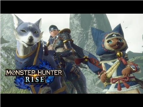 『モンスターハンターライズ』のゲーム画面の画像