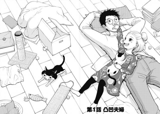 夫婦で漫画家のナナトエリさんと亀山聡さんが描く漫画『僕の妻は発達障害』(新潮社)の画像