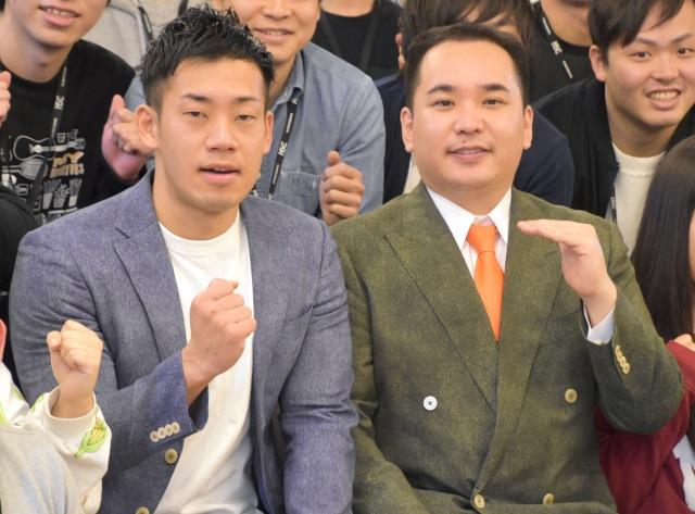 ミルクボーイ(左から)駒場孝、内海崇 (C)ORICON NewS inc.の画像