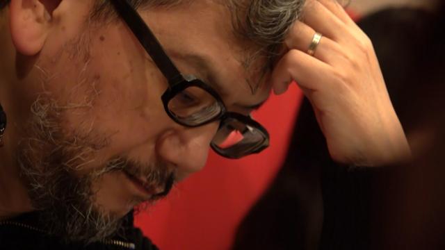 庵野秀明監督に密着したNHK総合『プロフェッショナル 仕事の流儀』の場面カット (C)NHKの画像
