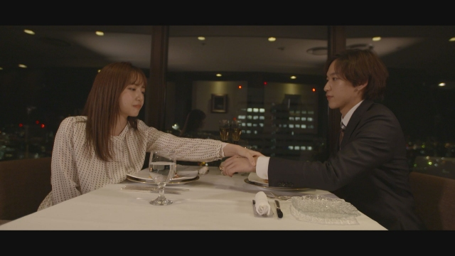 情報番組『イチモニ!』内で2月に放送された朝のショートドラマ「あなたの写真にはドラマがある。」より(C)HTBの画像