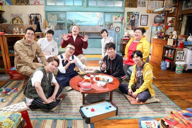 日本テレビの『でっけぇ⾵呂場で待ってます』撮影後オフショットが公開 (C)NTV・J Stormの画像