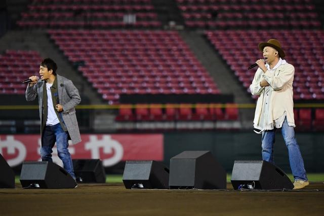 ファンキー加藤&モン吉で活動を再開するFUNKY MONKEY BABYSの画像