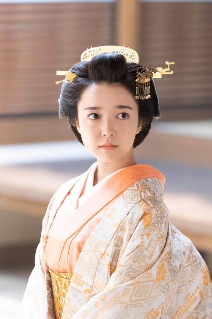 『青天を衝け』で篤君を演じる上白石萌音(C)NHKの画像