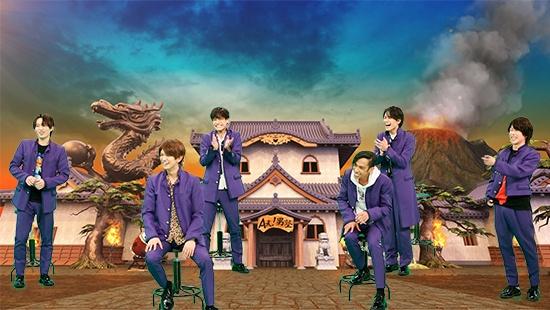 22日放送『なにわからAぇ! 風吹かせます!』に出演するAぇ!group (C)カンテレの画像