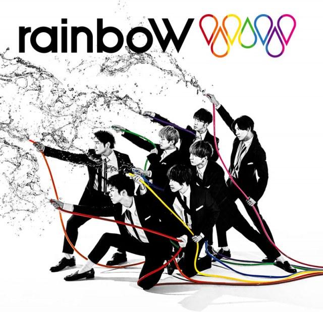 ジャニーズWEST『rainboW』(ジャニーズ エンタテイメント/3月17日発売)の画像