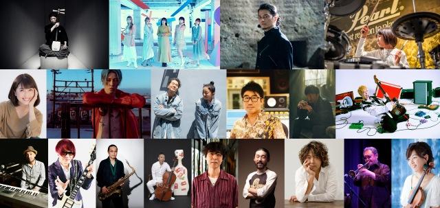 『日比谷音楽祭2021』出演アーティストの画像