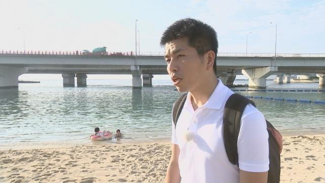 『ドキュメンタリー「解放区」』に登場する松永拓也さん(C)TBSの画像