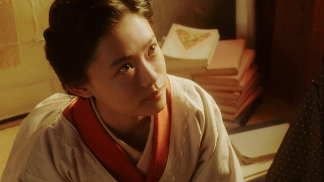 特高警察にあることを言う千代(杉咲花)=連続テレビ小説『おちょやん』第16週・第79回より (C)NHKの画像