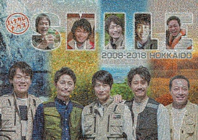 『ハナタレナックス』「北海道の笑顔プロジェクト」巨大フォトモザイクがついに完成。3月28日展示スタート (C)HTBの画像