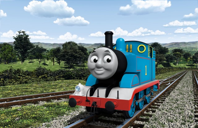 頑張り屋のタンク機関車「トーマス」(C)2021 Gullane(Thomas)Limited.の画像
