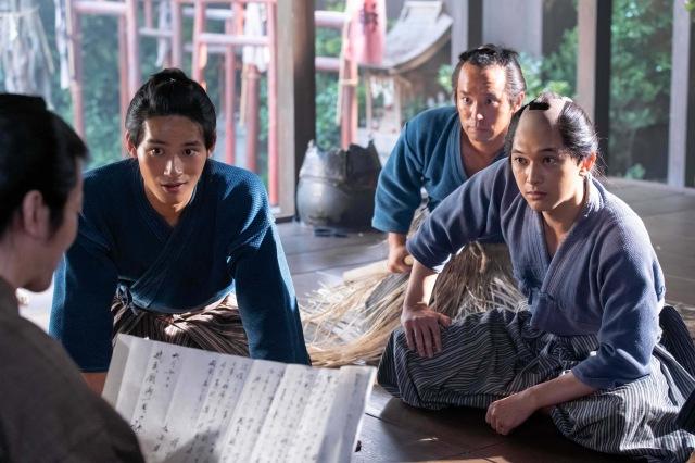 28日放送の第7回「青天の栄一」より(C)NHKの画像