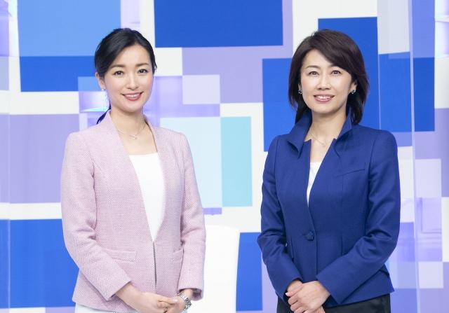 『WBSワールドビジネスサテライト』メインキャスターの大江麻理子、佐々木明子。装いも新たにリニューアルスタート (C)テレビ東京の画像