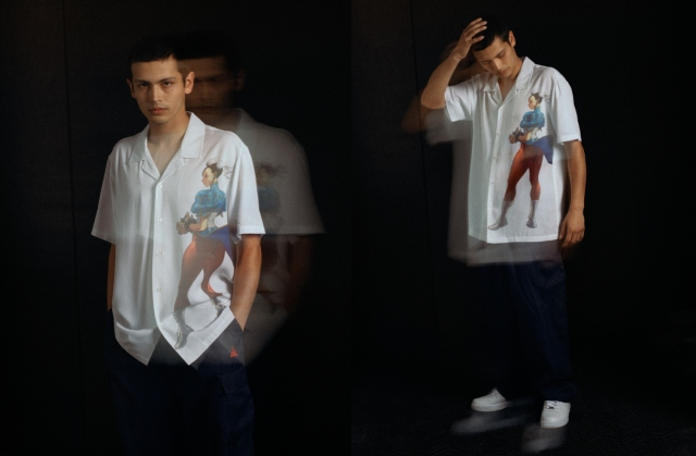 「HUF X STREET FIGHTER」コレクションが登場の画像