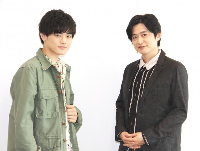 (左から)長江崚行、下野紘 (C)ORICON NewS inc.の画像