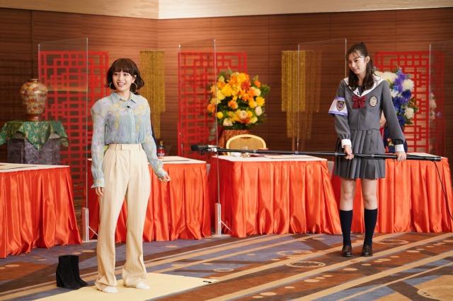 『ぐるぐるナインティナイン2時間SP』に出演する広瀬すず、中条あやみ (C)日本テレビの画像