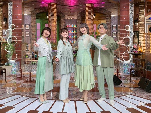 4日放送『関ジャム 完全燃SHOW』に出演するNagie Lane(ナギーレーン) 写真左から mikako、ブリジットまゆ、れいちょる、バラッチの画像