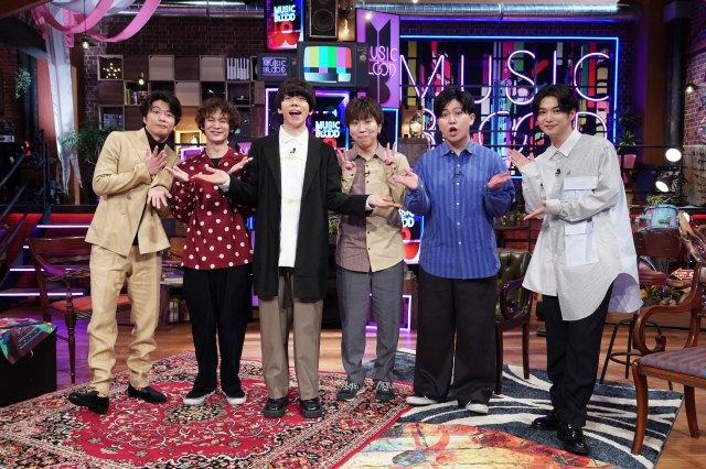 新音楽番組『MUSIC BLOOD』初回ゲストにsumika (C)日本テレビの画像
