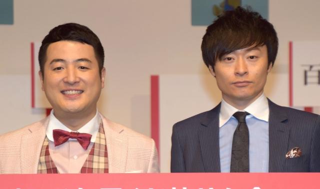 和牛(左から)水田信二、川西賢志郎 (C)ORICON NewS inc.の画像