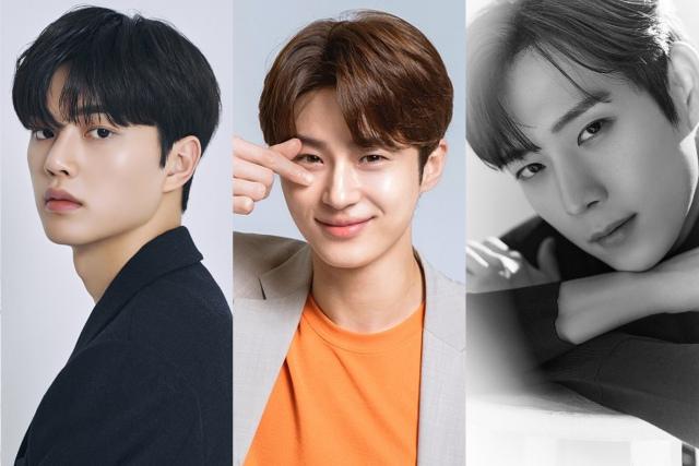 韓国で注目のネクストブレイク俳優(左から)ソン・ガン、ビョン・ウソク、キム・ヨンデの画像