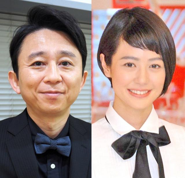 (左から)有吉弘行、夏目三久アナウンサー (C)ORICON NewS inc.の画像