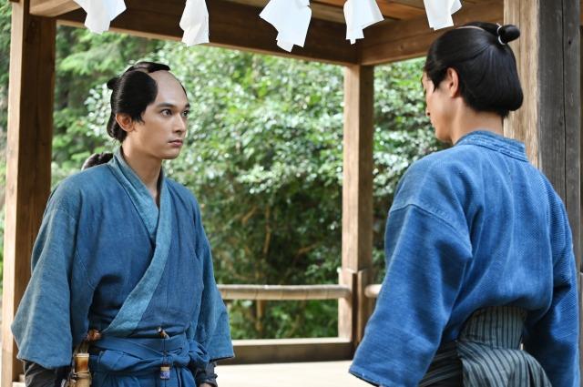 第8回「栄一の祝言」より(C)NHKの画像
