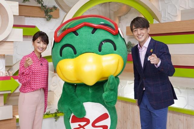 梅澤廉(右)&望月理恵(左)の新コンビでスタートした『ズームイン!!サタデー』 (C)日本テレビの画像