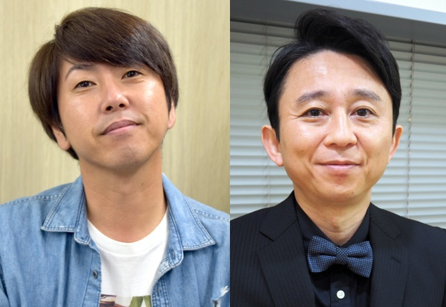 (左から)森脇和成、有吉弘行(C)ORICON NewS inc.の画像
