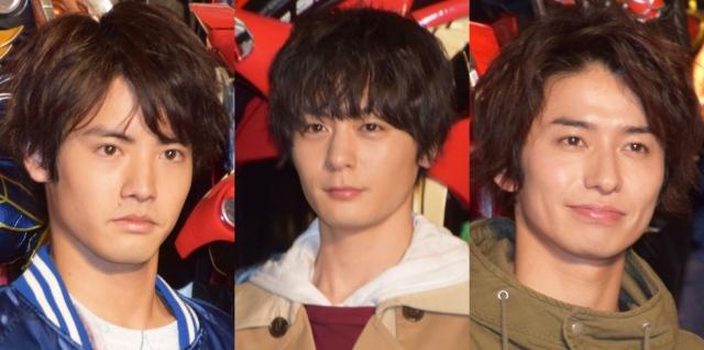 『仮面ライダービルド』に出演した(左から)赤楚衛二、犬飼貴丈、武田航平 (C)ORICON NewS inc.の画像