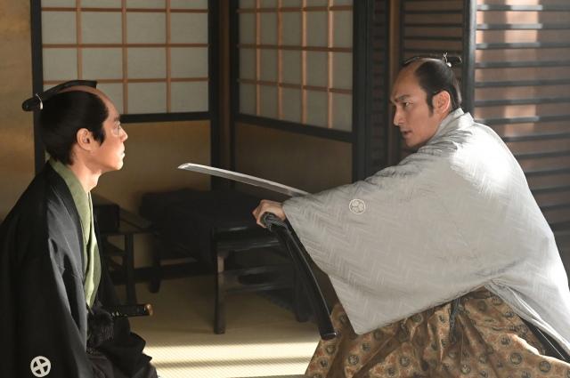 大河ドラマ『青天を衝け』で徳川慶喜を演じている草なぎ剛(C)NHKの画像