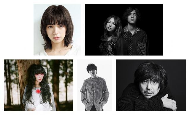 (上段左から)池田エライザ、GLIM SPANKY、(下段左から)DAOKO、三浦大知、宮本浩次の画像