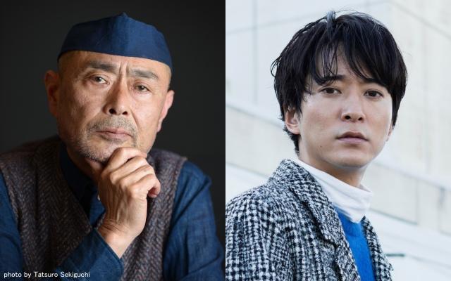 日本テレビ系連続ドラマ『コントが始まる』第2話に出演する伊武雅刀、浅香航大 (C)日本テレビの画像