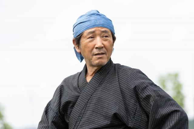 大河ドラマ『青天を衝け』で渋沢市郎右衛門を演じている小林薫(C)NHKの画像