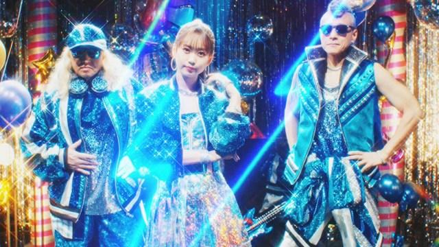 芹澤 優 with DJ KOO & MOTSU「EVERYBODY! EVERYBODY!」MVカットの画像