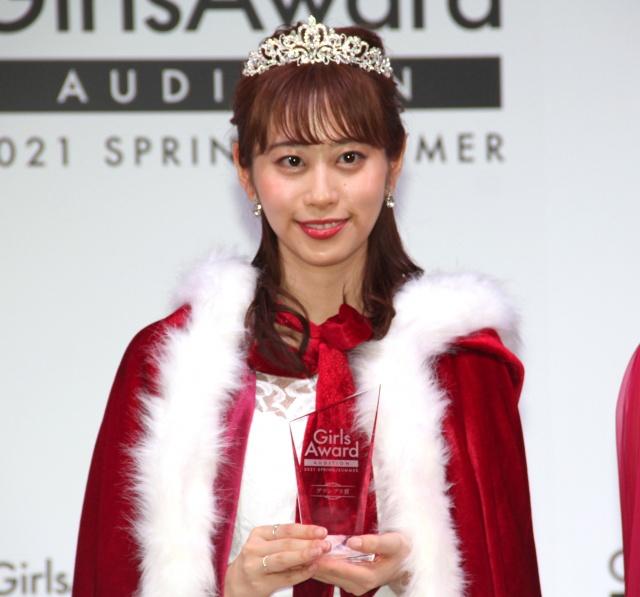 『GirlsAward』初のオーディションでグランプリに輝いた正木絢女さん (C)ORICON NewS inc.の画像