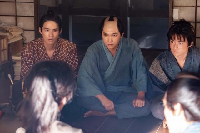 11日放送の第9回「栄一と桜田門外の変」より(C)NHKの画像