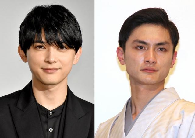 NHK総合で放送された『土曜スタジオパーク』に生出演した(左から)吉沢亮、高良健吾 (C)ORICON NewS inc.の画像
