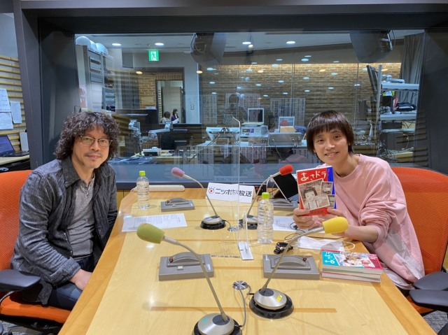 吉田尚記アナのポッドキャスト番組『マンガのラジオ』スタート 初回ゲストは浦沢直樹(C)ニッポン放送の画像