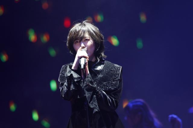 SKE48卒業コンサート夜公演で断髪後の松井珠理奈(C)2021 Zest,Inc. / AEIの画像