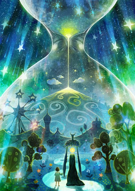 オリジナルアニメーション「夜の国」のキービジュアルの画像