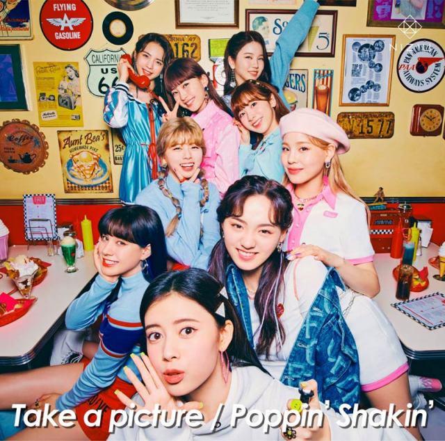 2ndシングル「Take a picture/Poppin' Shakin'」が、シングル2作連続1位を記録したNiziUの画像