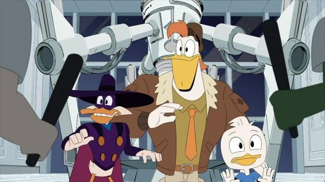 日本初放送エピソード『ダックテイルズ/危険が俺を呼んでるぜ』ディズニー・チャンネルで4月17日放送 (C)Disneyの画像