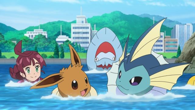アニメ「ポケットモンスター」の場面カット (C)Nintendo・Creatures・GAME FREAK・TV Tokyo・ShoPro・JR Kikaku (C)Pokemonの画像