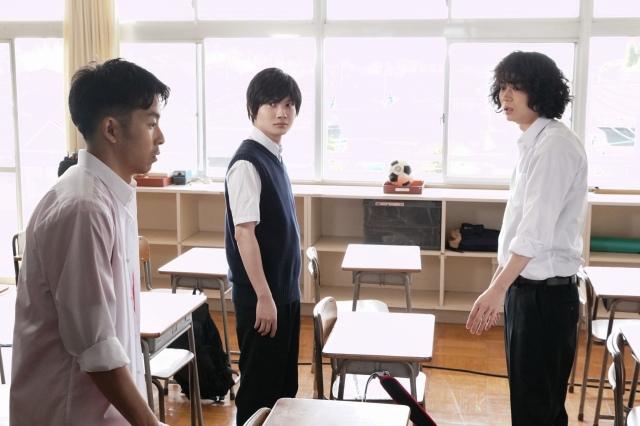 『コントが始まる』第1話に出演する仲野太賀、神木隆之介、菅田将暉 (C)日本テレビの画像