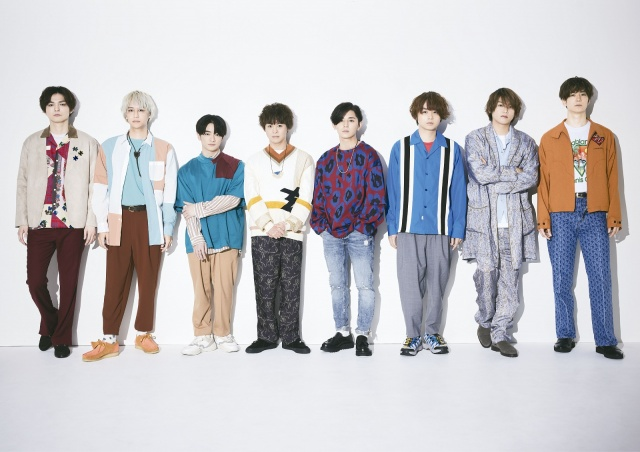 ニューシングル「ネガティブファイター」の新ビジュアルを解禁したHey! Say! JUMPの画像