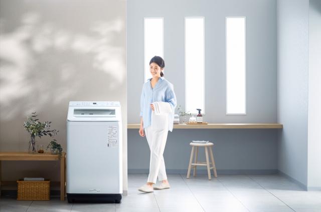 パナソニックの全自動洗濯機の画像