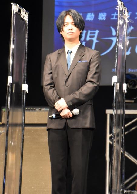 レーン・エイム役で青さを表現したことを明かした斉藤壮馬 (C)ORICON NewS inc.の画像