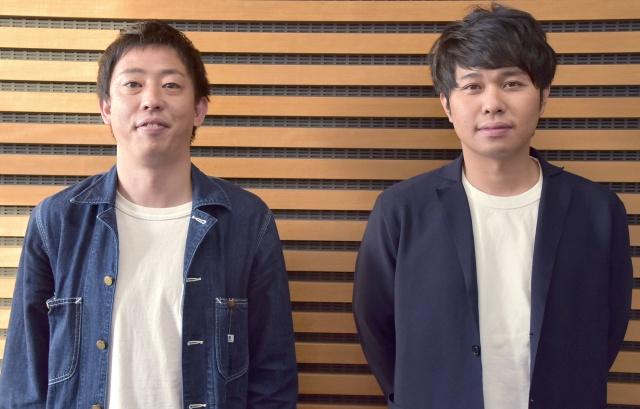 さらば青春の光(左から)森田哲矢、東ブクロ (C)ORICON NewS inc.の画像