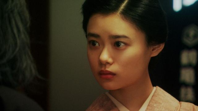 千之助からあることを言われる千代(杉咲花)=連続テレビ小説『おちょやん』第19週・第95回より (C)NHKの画像