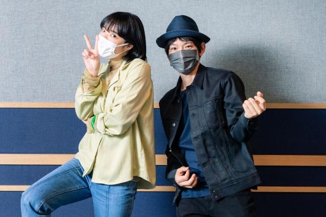 対談を行った(左から)あいみょん、草野マサムネ(C)TOKYO FMの画像